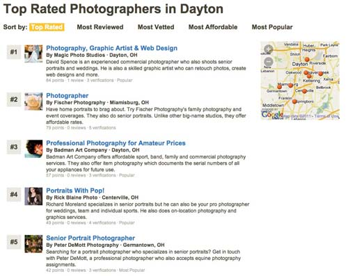 Peter DeMott Photography top rated photographer in Dayton - Peter