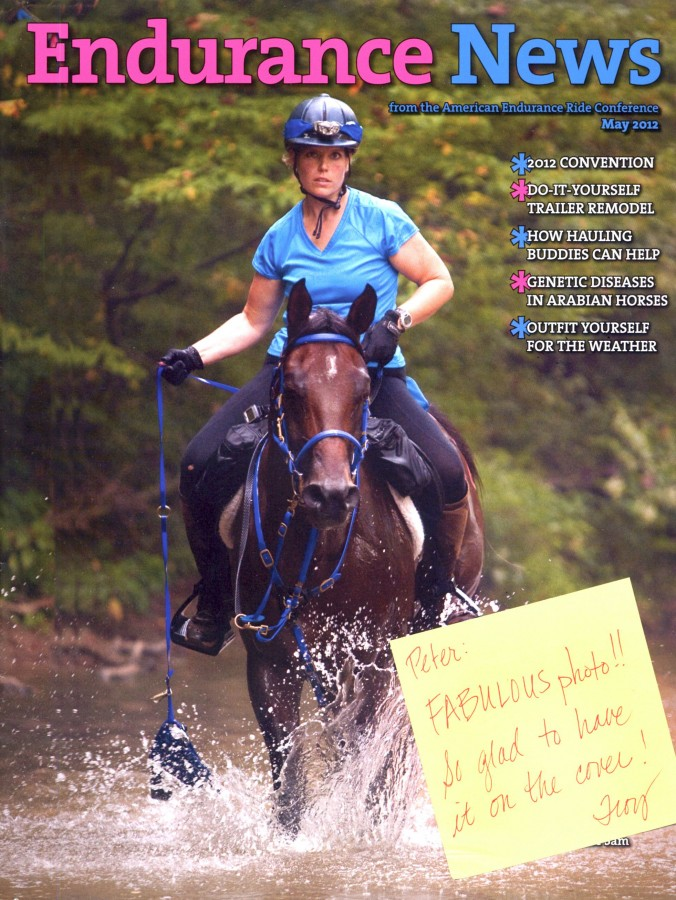 AERC Endurance News May Cover 2012