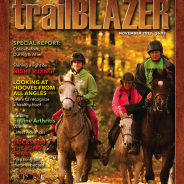 Trail Blazer Magazine Cover for November edition