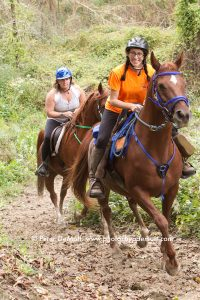 Salimonie Stomp Endurance Ride Action