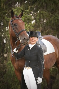 Dressage Portrait