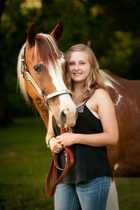 Emma and her horse