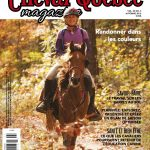 On the cover of the Cheval Quebec Magazine